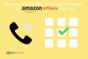Resolve Phone PIN Verification Problem For Amazon Affiliate Sign Up