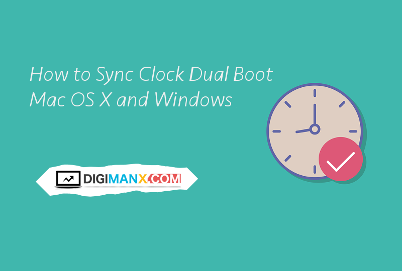 Sync Clock Mac and Windows