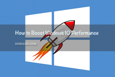 Windows 10 Performance Boost