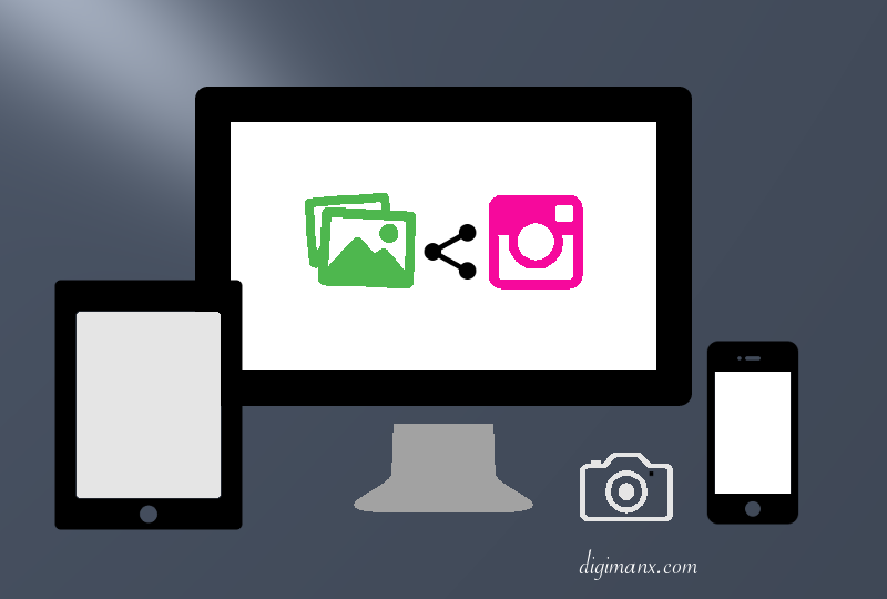 How to Upload Photo on Instagram From PC and Mac
