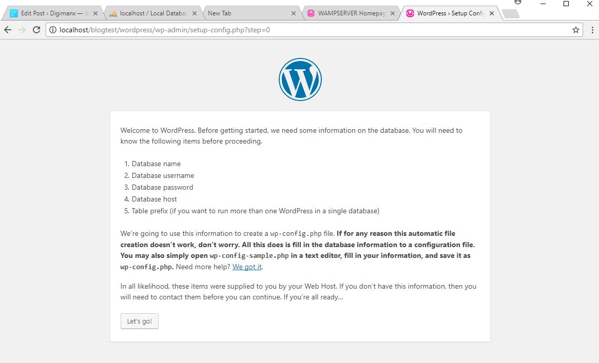 Learn WordPress In Windows Localhost Using WAMP Server