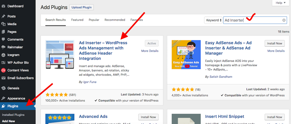 How to Use Ad Inserter to Place Adsense Code On WordPress AMP