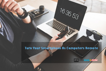 Turn Your Smartphone As Computers Remote