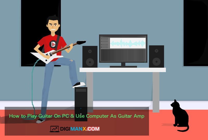 how to play guitar on pc use computer as guitar amp digimanx. Black Bedroom Furniture Sets. Home Design Ideas