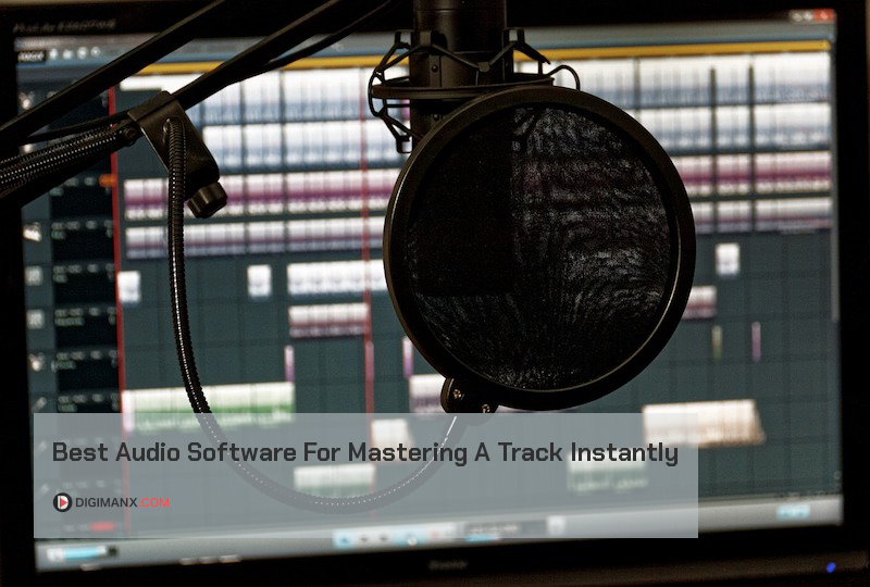 Audio mastering software
