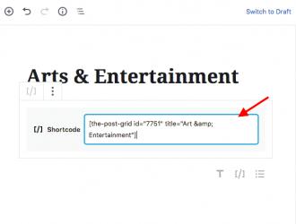 Add posts to a static page WordPress