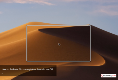 How to Activate Picture-in-picture Zoom In macOS