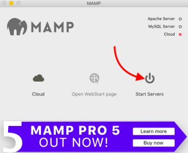 MAMP server