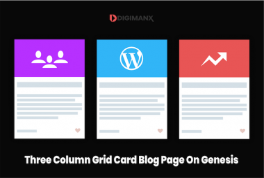 Grid Card Blog Page