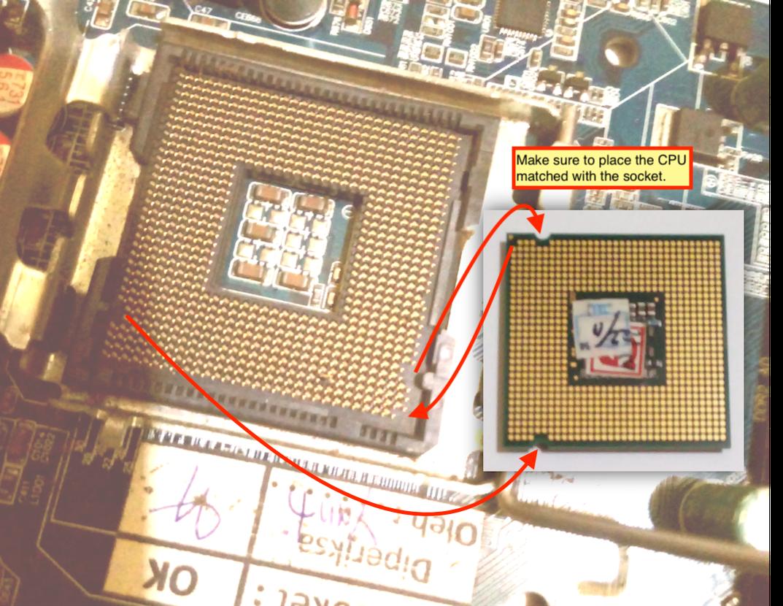 Install CPU on DIY PC Built